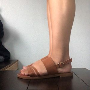 Madden Girl Tan Sandals